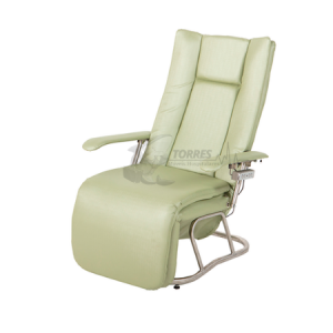 Poltrona hospitalar reclinável motorizada