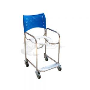 cadeira de banho com encosto injetado