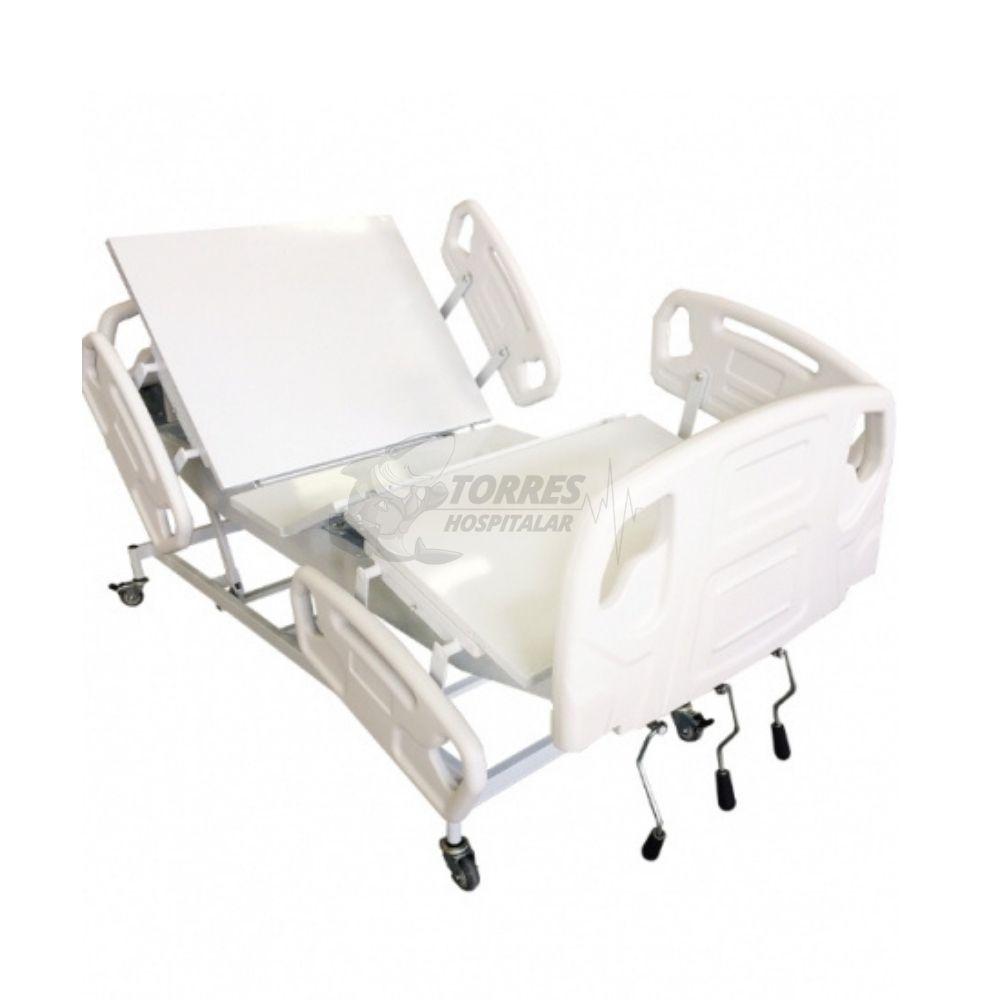 Cama hospitalar manual 3 manivelas