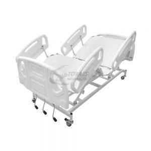 Cama Hospitalar manual com 3 manivelas