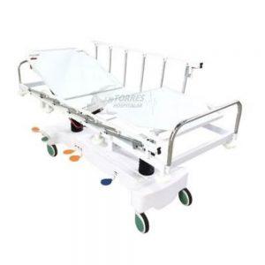 Carro maca hospitalar hidráulica