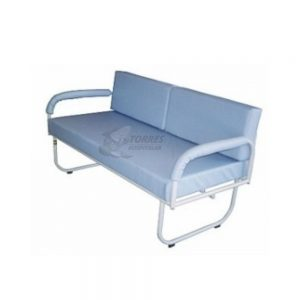 Sofá cama hospitalar compacto